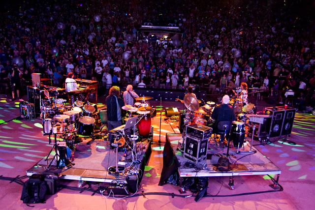 The String Cheese Incident - July 25, 2010 - Red Rocks Amphitheatre - Photo by Mitch Kline